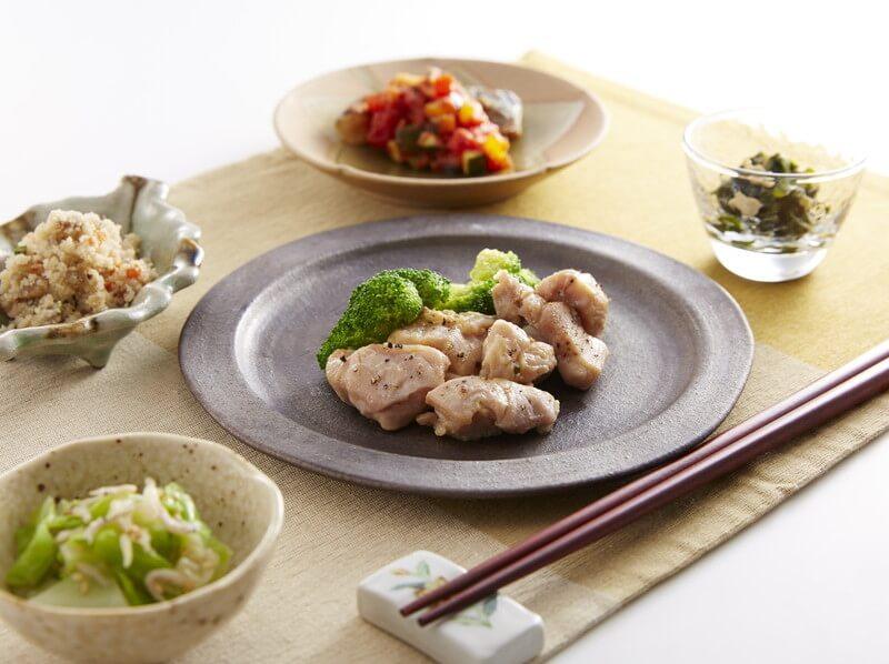 食宅便の鶏肉料理