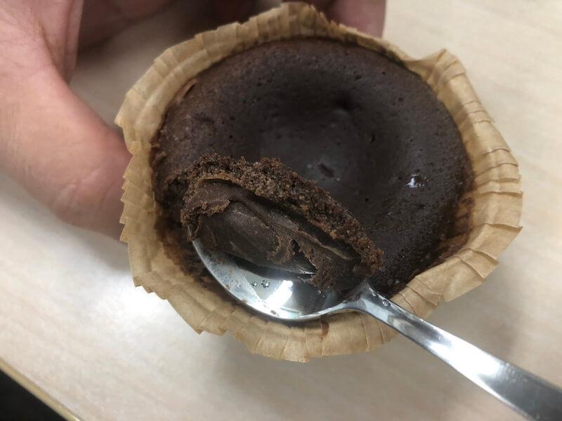ベルギーチョコのフォンダンショコラ
